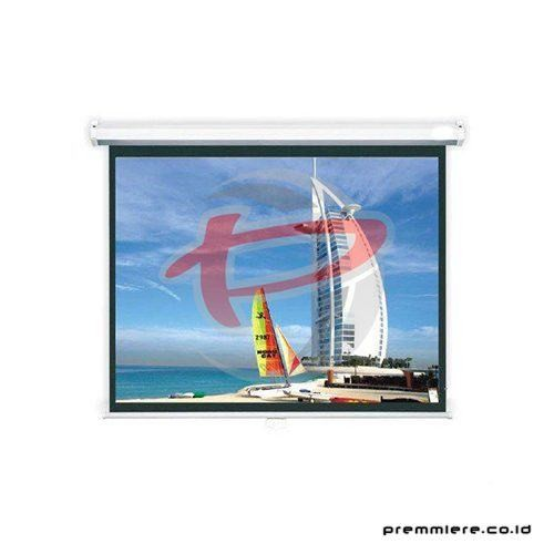 "Screen Projector Manual Wall Screen 150"" [MWSSV2230L]"